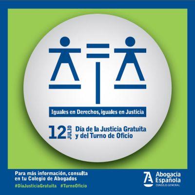 12 de julio, DIA DE LA JUSTICA GRATUITA